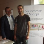 Per Alamiekkoja och Alexander Sundqvist från Shoppa är vana att rekrytera praktikanter som får stanna
