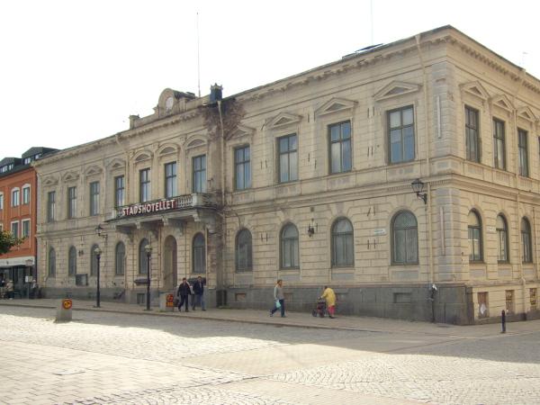 Stadshotellet i Enköping från 1800-talet