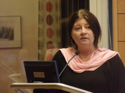 Helena Proos (s) en av många duktiga kvinnor inom politiken i Enköping