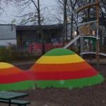 Vilken fin lekplats i Romberga