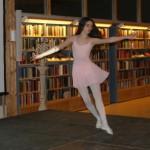 Matilda Toresäter svävade fram på lätta balettsteg