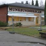 Det pratades mycket om den nya skola som ska ersätta Munksundskolan.